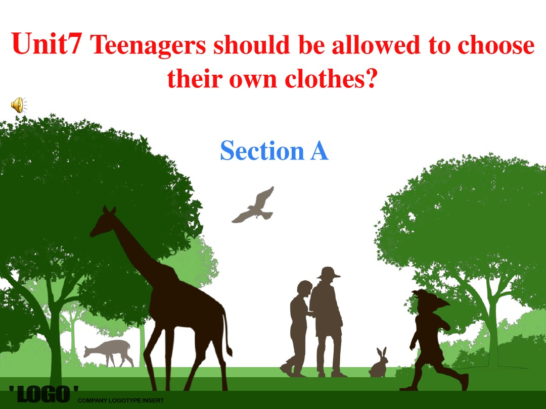 Unit7 Teenagers should be allowed to choose their own clothes