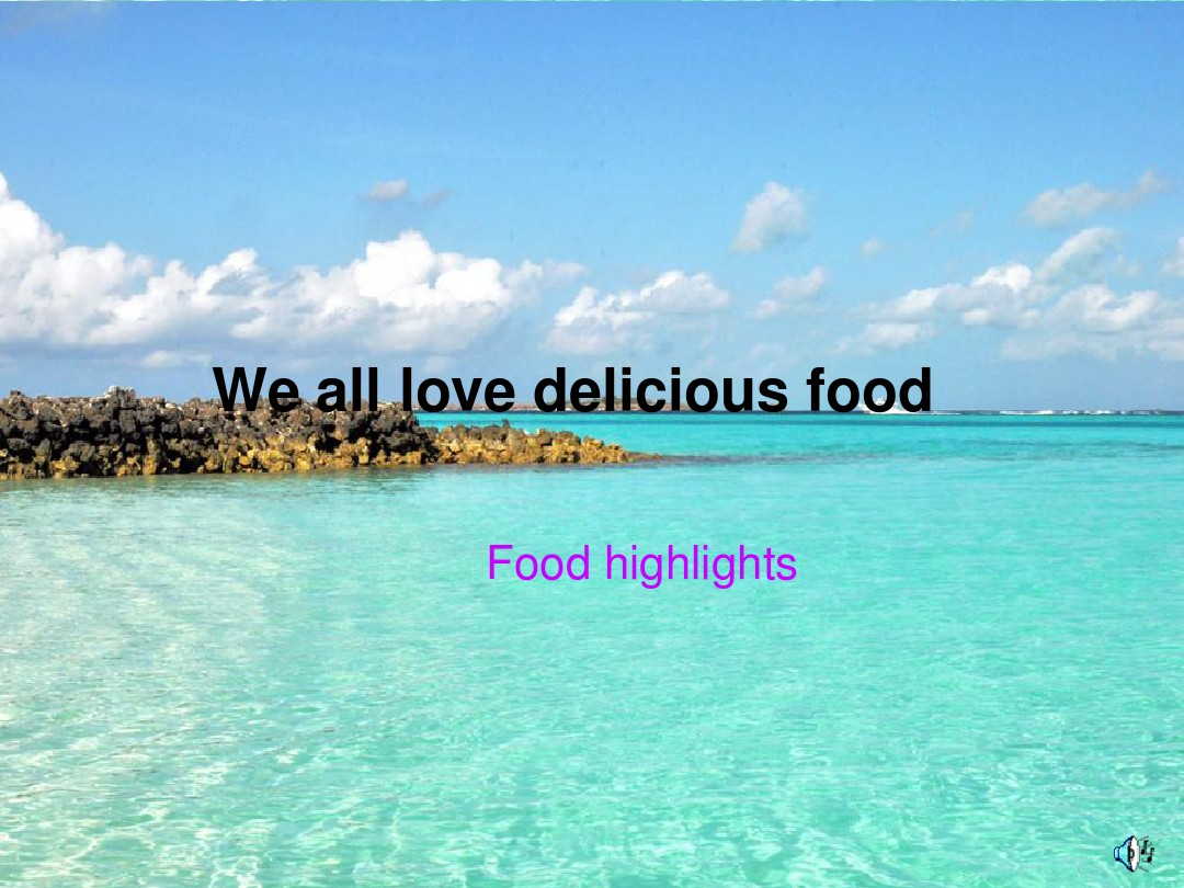 We all love delicious food 2