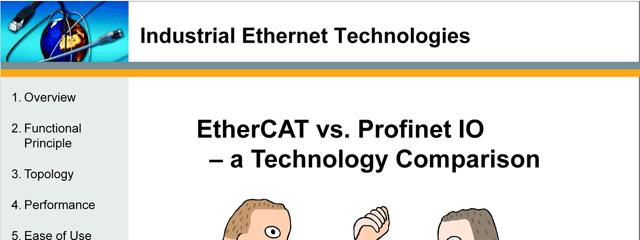 2. EtherCAT vs. Profinet