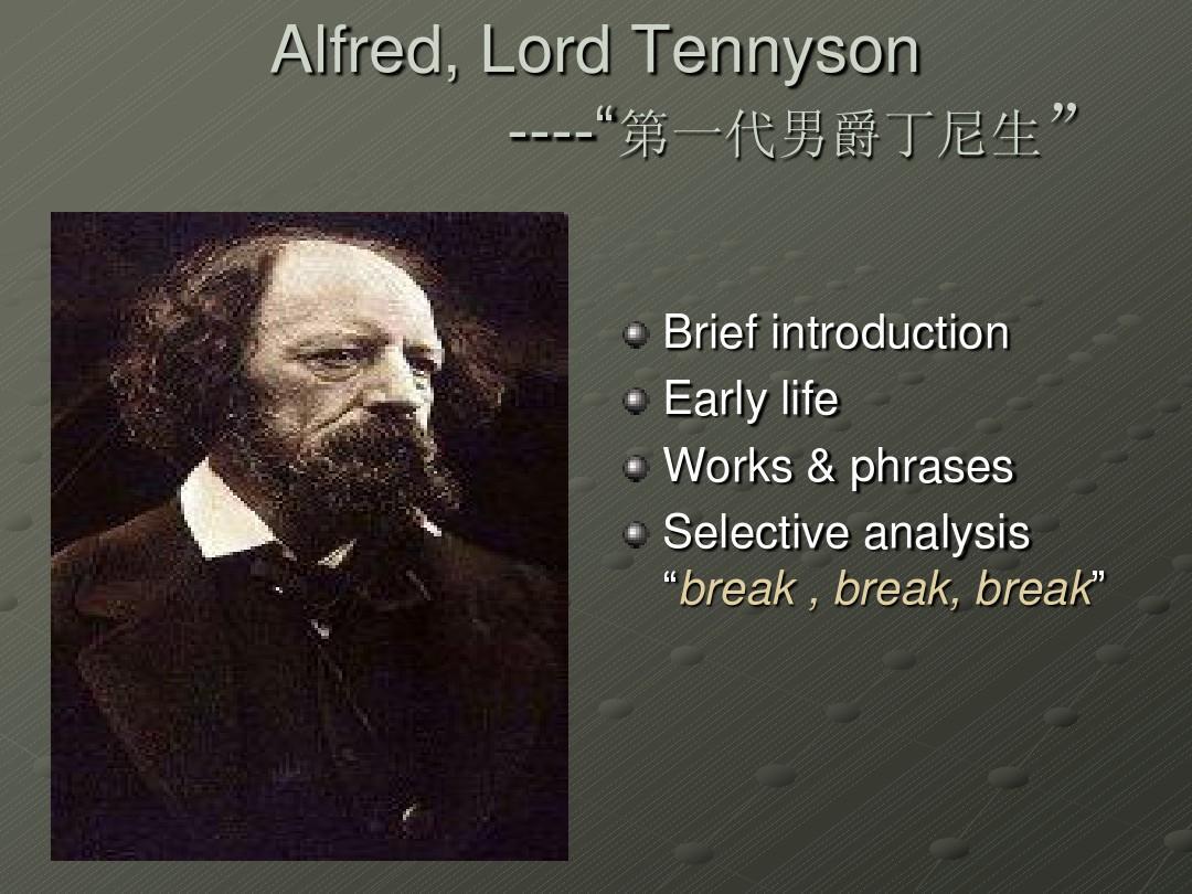 alfred lord tennyson 25991 26723 20043 23478  alfred lord tennyson