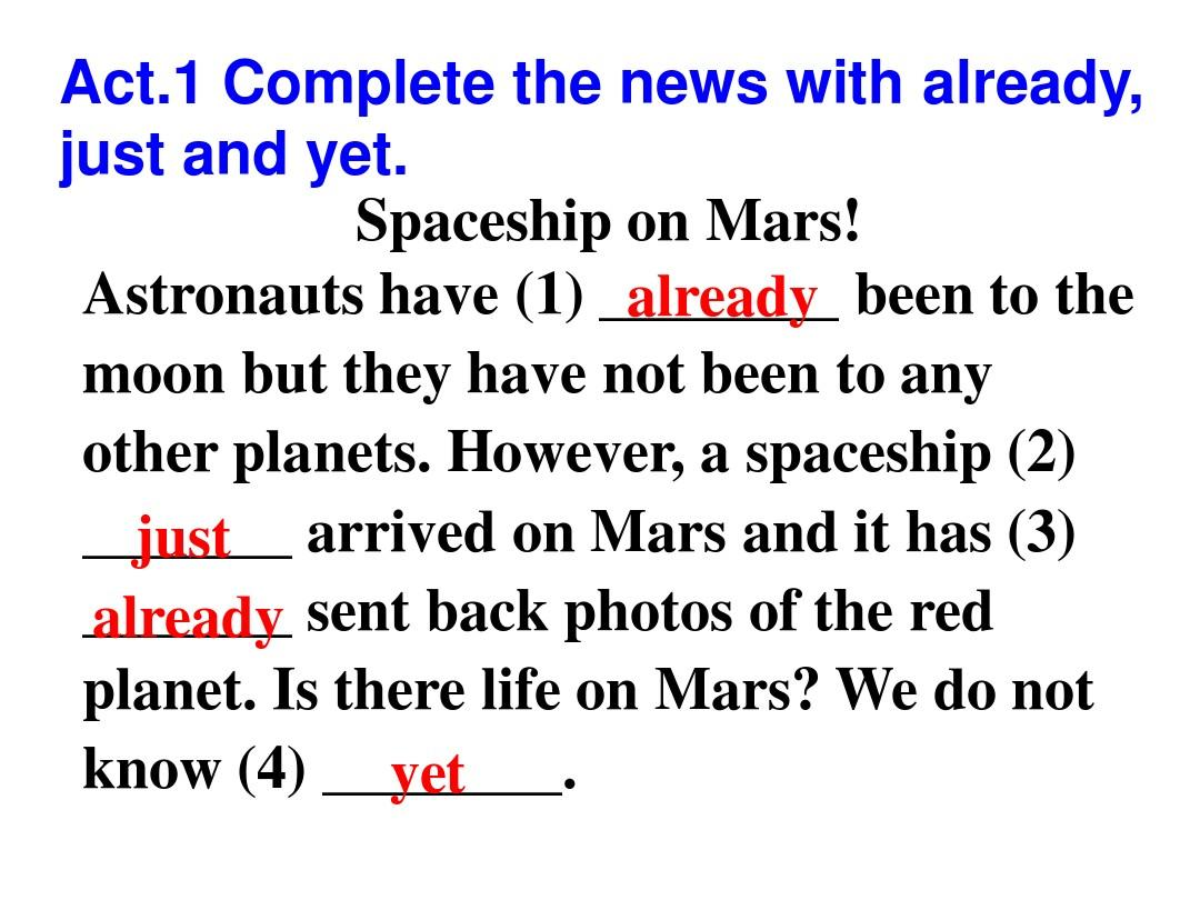 M3Journey to space Unit3 Language in use