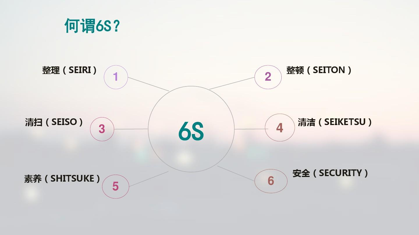 6S管理汇报