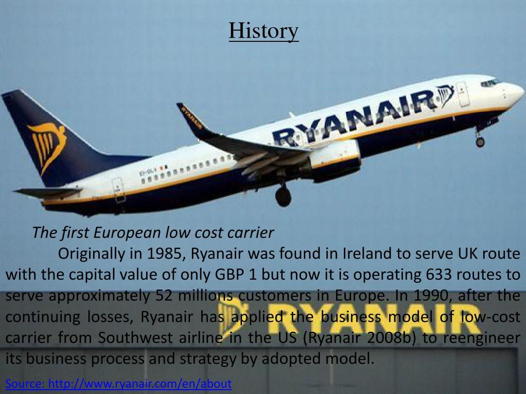 Ryan air presentation