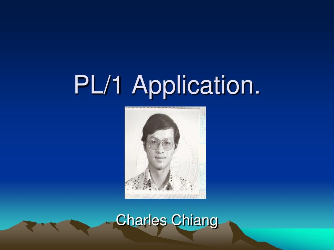 PLI application.
