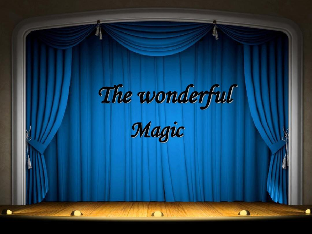 Magic魔术英语