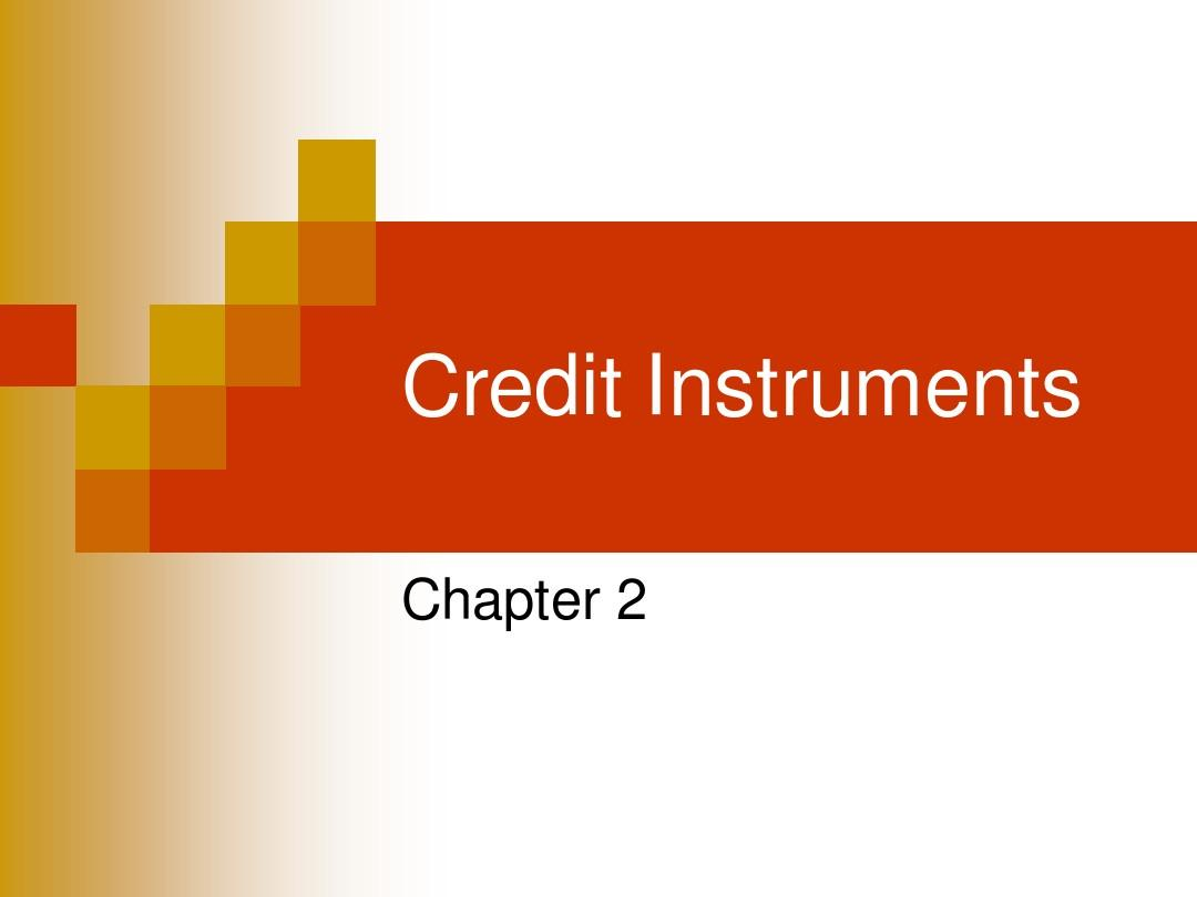 2.negotiable instrument