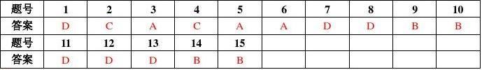 《数据结构》期末考试试卷A答案