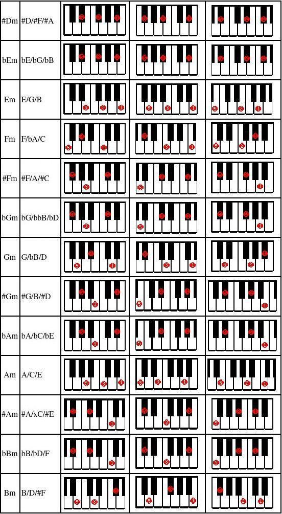电子琴入门教程图片
