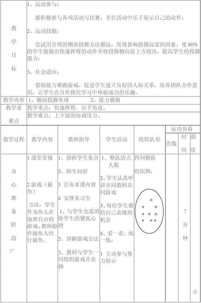 垒球体育课投掷小学教学设计[1]南昌2017端午节龙舟图片