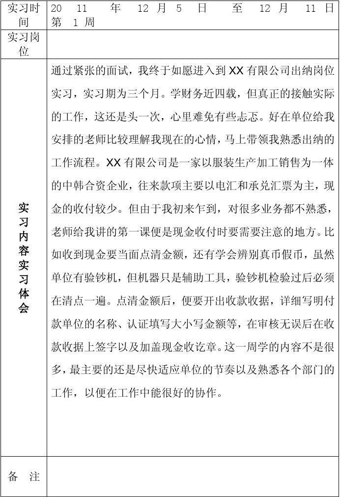 会计实周记范文_亲,求关于会计顶岗实习周记15篇加实习总结.