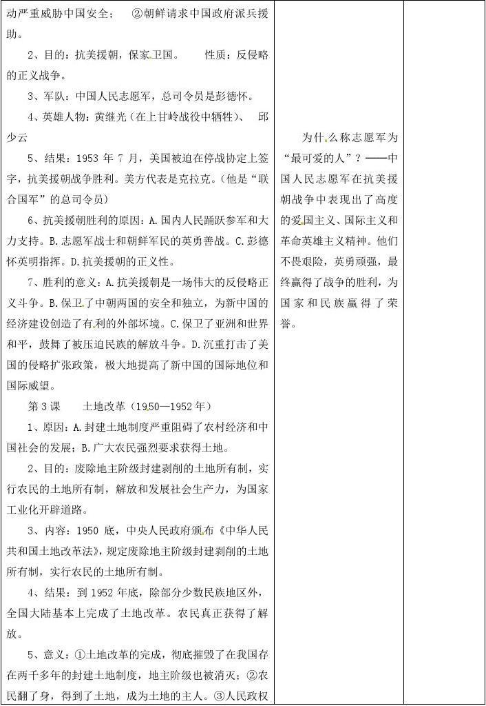 甘肃省武威第十一中学八年级历史物理第一单元《中华下册高中v年级图片
