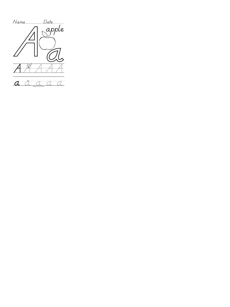 26个英文字母大小写手写体(学生用)描红图片