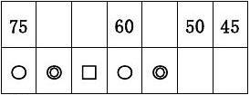 2012小学一年级数学下册期末练习题1