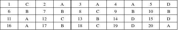 大学计算机基础第2版习题参考答案