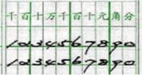阿拉伯数字的标准写法