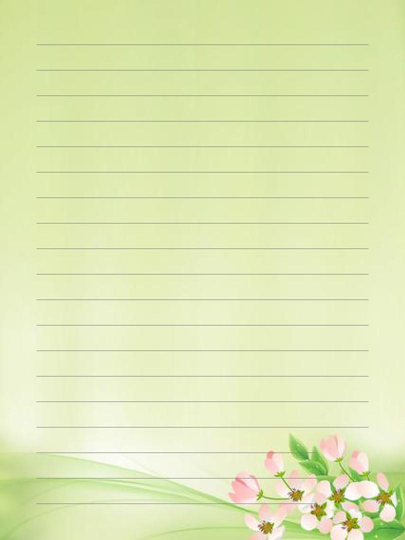 信纸ppt模板图片