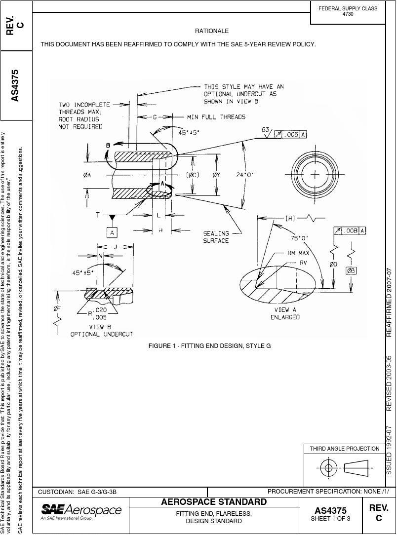SAE AS 4375C-2003