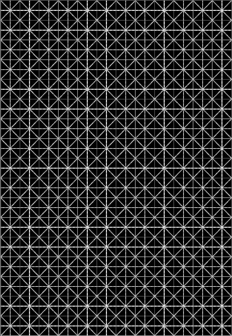 米字格练字模板-17行12列A4深浅两种宠物屋v模板图片