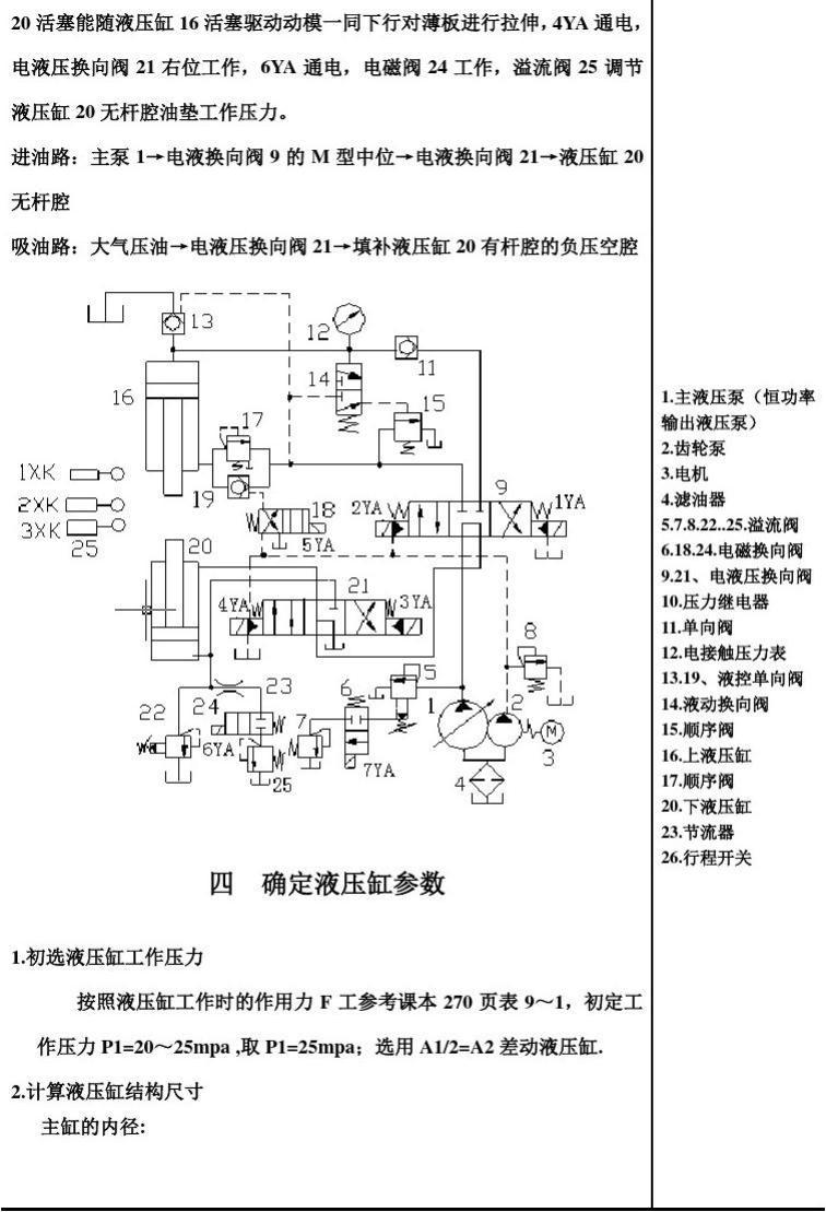 液压与液力传动课程设计-多用途大台面液压机液压系统