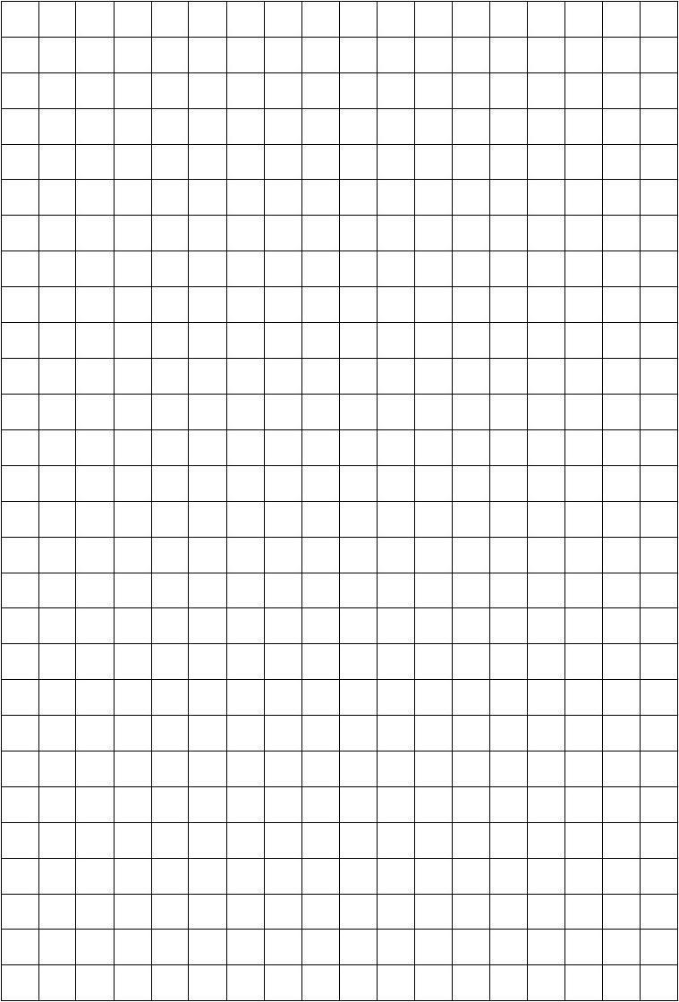 1平方厘米的格子图