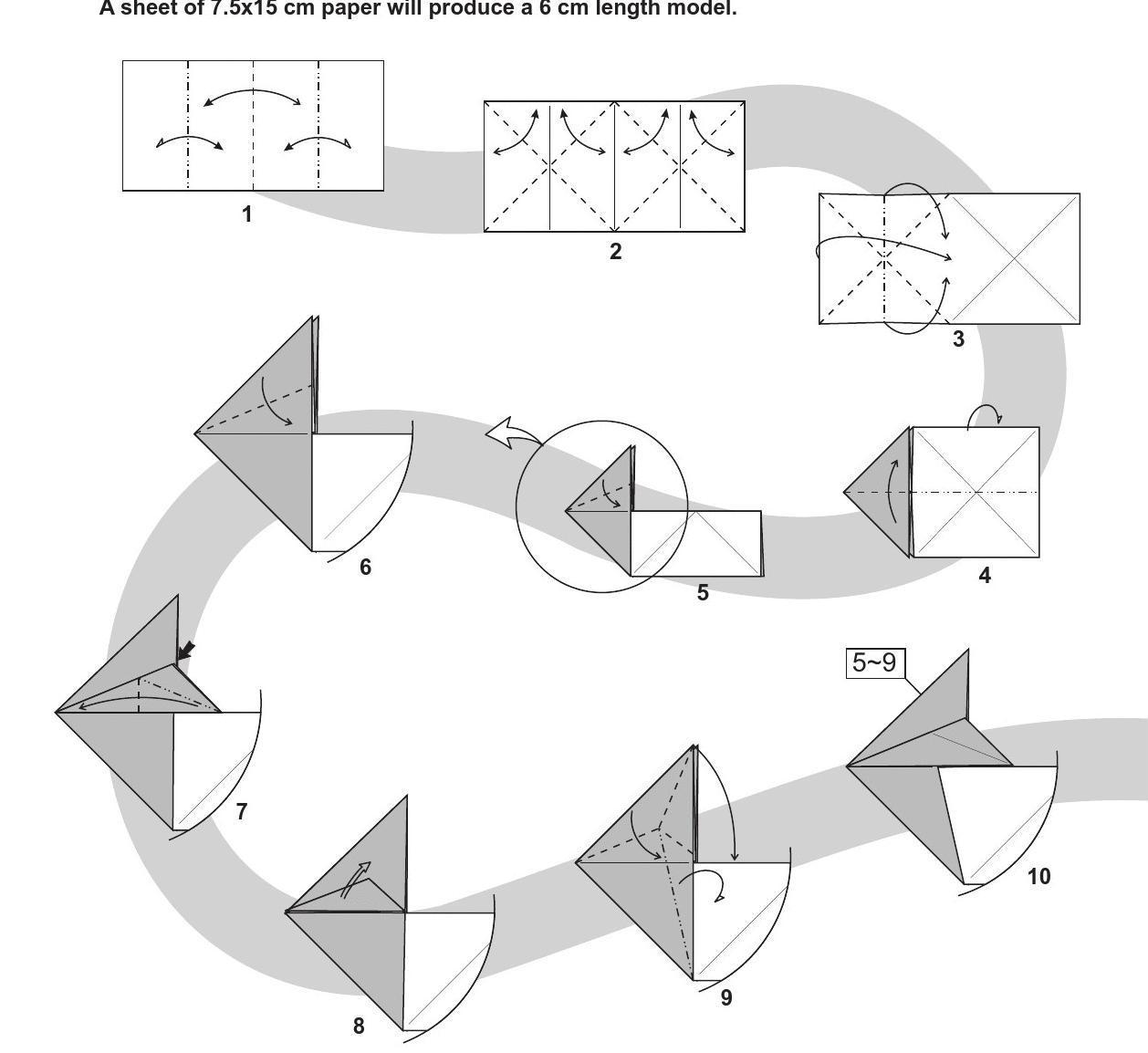 纸币兔子折纸教程