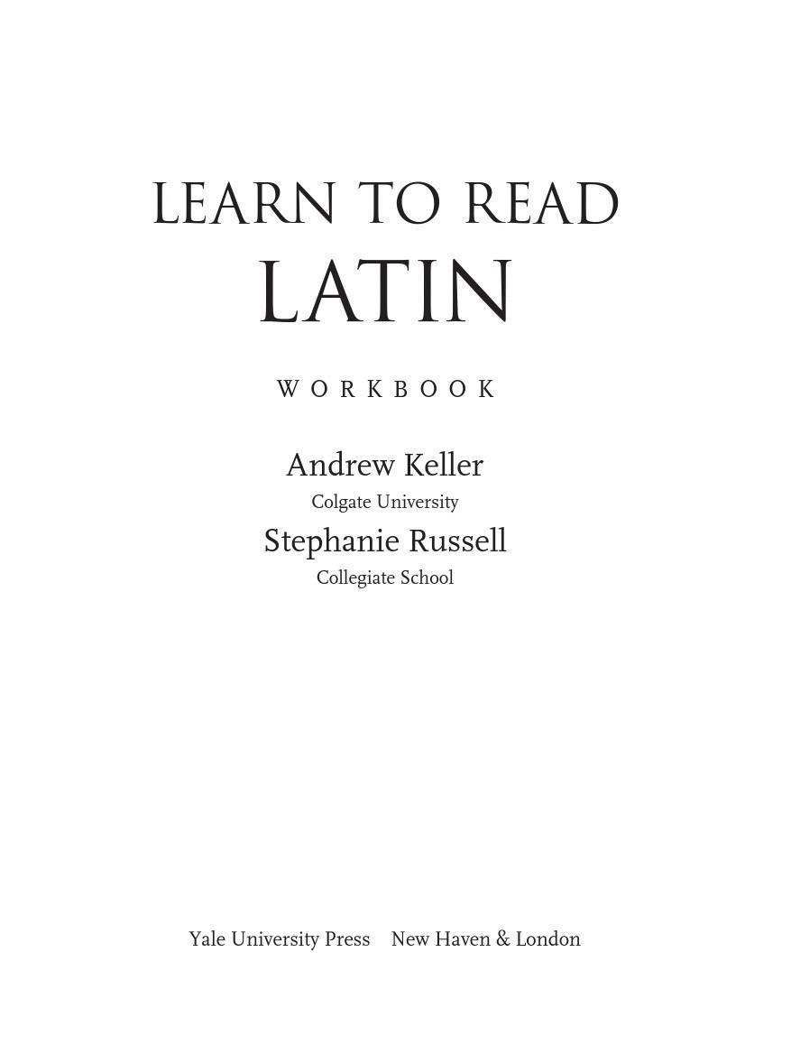 Learn to read Latin-如何学拉丁语