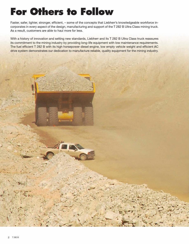 利勃海尔t282b_利勃海尔t282b矿用自卸车