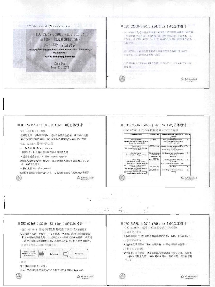 IEC 62368-1培训教材
