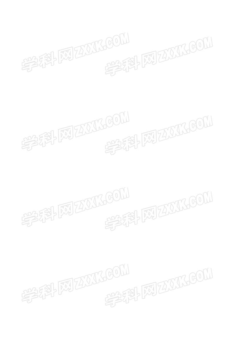 2015年广东省初中毕业生学业考试专题训练:读写综合(扫描版)答案