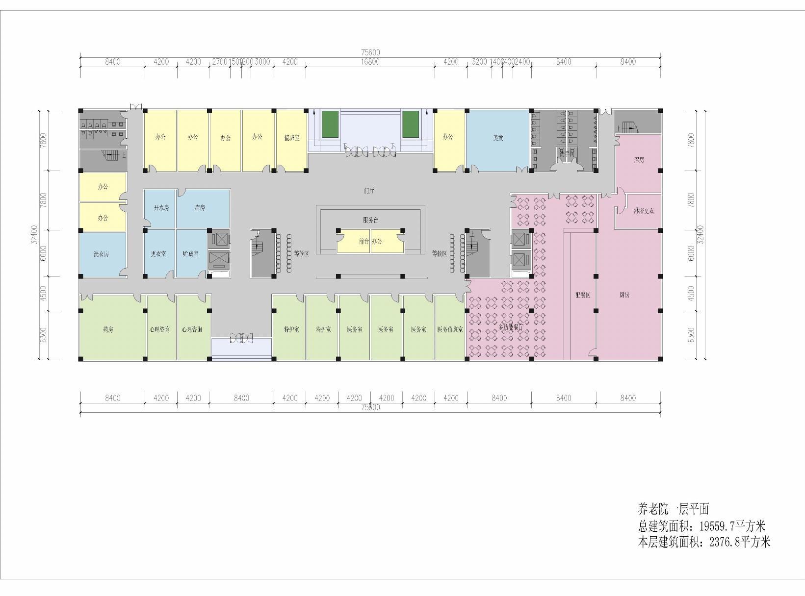 养老院规划设计的注意事项有哪些 养老院规划设计注意图片