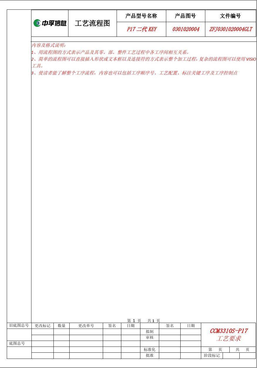 2工艺流程图模板_word文档在线阅读与下载图片