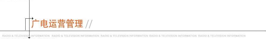 我国广播电视产业的发展现状与工作思路