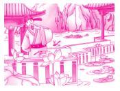 2019年春七年级语文下册文言文阅读5爱莲说专项训练新人教版