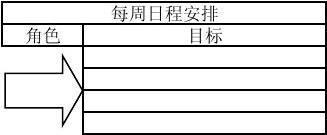 每周日程安排 (Excel表)