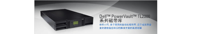 Dell PowerVault TL2000磁带库