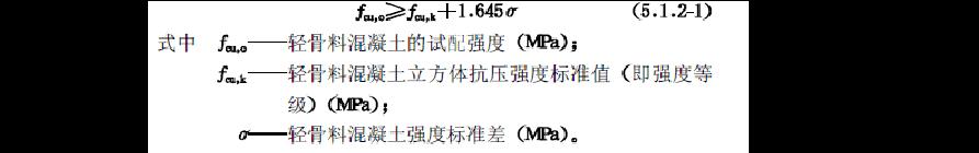 LC5.0轻集料陶粒混凝土配合比