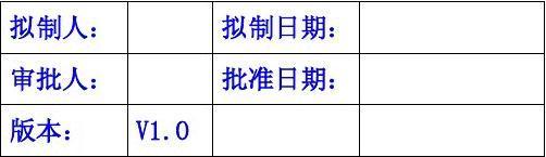 供应商现场评审检查评分记录表