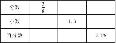 新北师大版小学六年级上册数学第四单元《百分数》测试卷