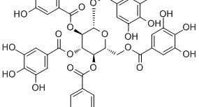 1,2,3,4,6-Penta-O-galloyl-beta-D-glucopyranose_14937-32-7_DataSheet_MedChemExpress