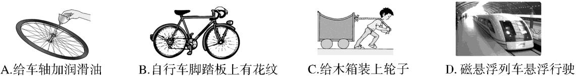 2014中考物理特训卷弹力重力摩擦力