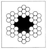 钢丝绳规格表_钢丝绳规格及金属截面积表_文档下载