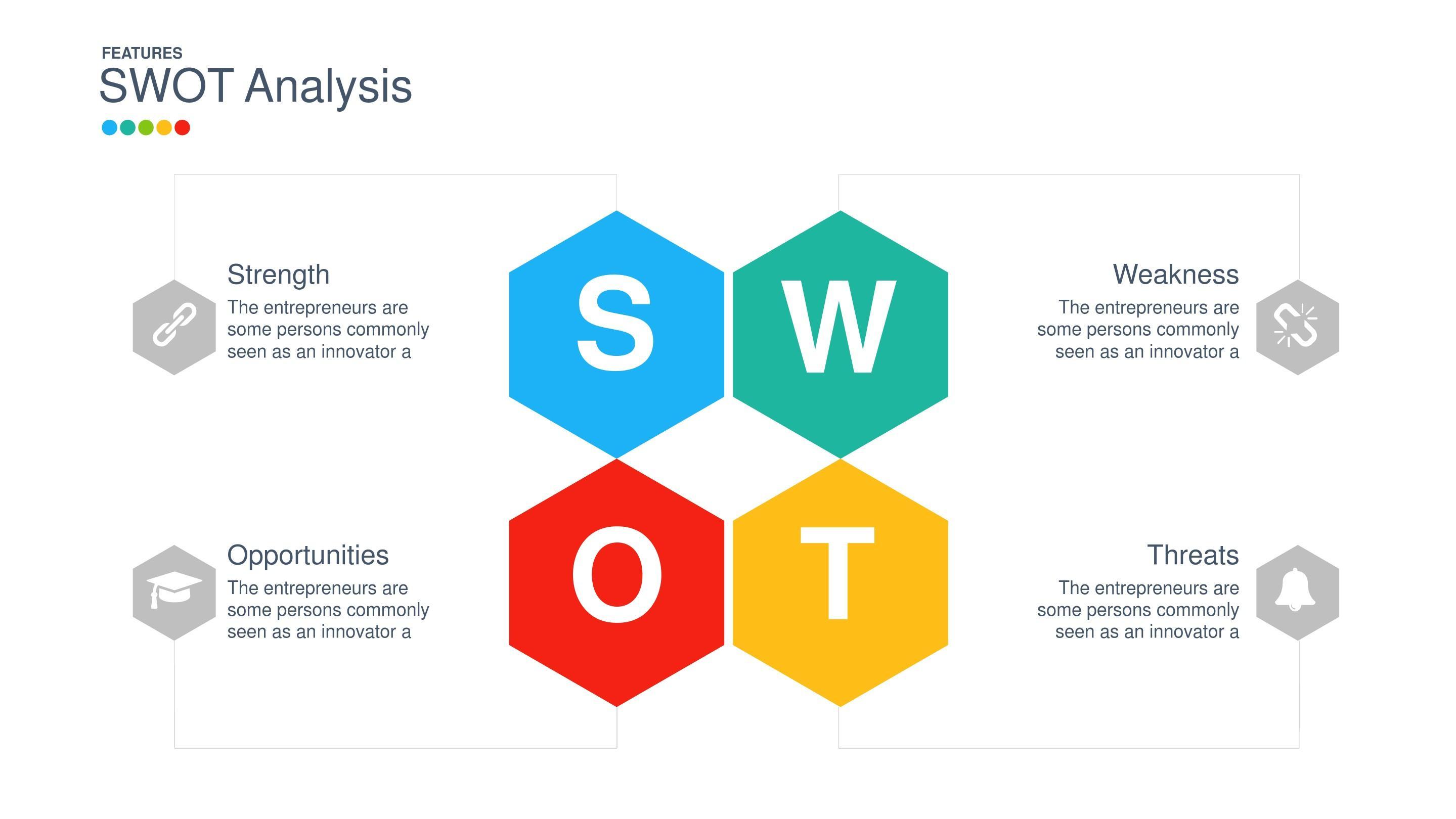 大学生swot分析范文_六边蜂窝形SWOT分析PPT素材_word文档在线阅读与下载_免费文档