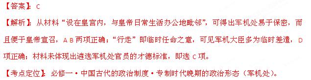 2013高考历史_6年高考题精解精析
