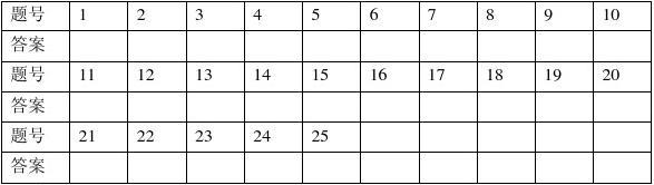 中华书局版九年级历史上册期末测试卷答案