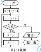 2014年安徽高考理科数学试题与参考答案