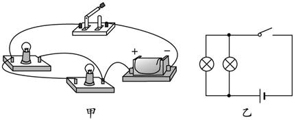 并联电路实物连接_连接并联电路的方法是-