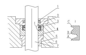 济钢4#板坯连铸机液压缸密封结构的改进图片
