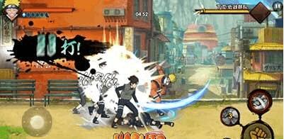 《火影忍者手游》连击才是忍者不败的动力