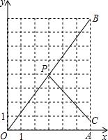 网格中的相似三角形