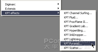 photoshop Kpt 7.0滤镜的使用方法